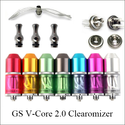 510 thread Gs V core 2.0 Clearomizer | clear atomizer online wholesale